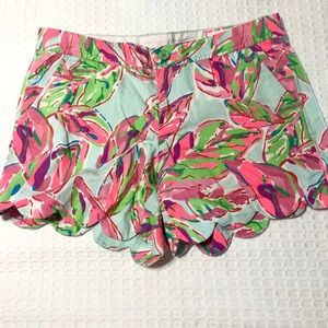 Lilly Pulitzer Buttercup Shorts, Size 8